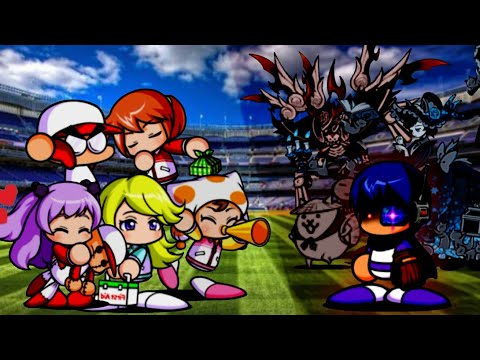 The Battle Cats - SpeedRun All Date Chance Stage [PowerPro Baseball Collab] (видео)