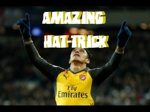 West Ham Vs Arsenal 1-5 All Goals--Amazing Hat trick Alexis Sanchez Highlights FULL HD 03 12 2016