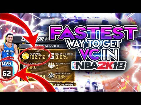 FASTEST WAY TO GET VC IN NBA 2K18 AFTER PATCHES! (STOP GRINDING! FASTEST VC METHOD!!)