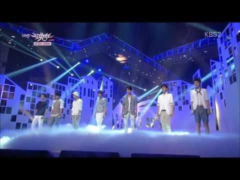 130719 INFINITE - Backstage interview + Mother + Destiny @ Music Bank [1080p] (видео)