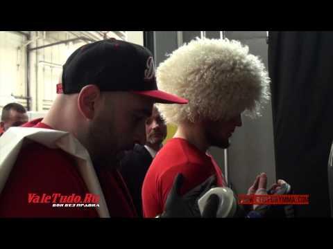 Khabib Nurmagomedov vs Pat Healy. Backstage Pass UFC 165. (Part 6)