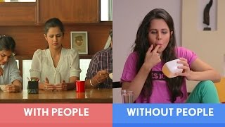 Video FilterCopy | Being Alone Vs. With People | Ft. Radhika Bangia, Naman Banthia MP3, 3GP, MP4, WEBM, AVI, FLV Mei 2018
