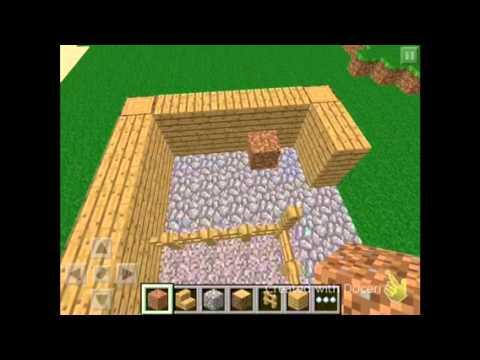 how to make a popcorn machine in minecraft