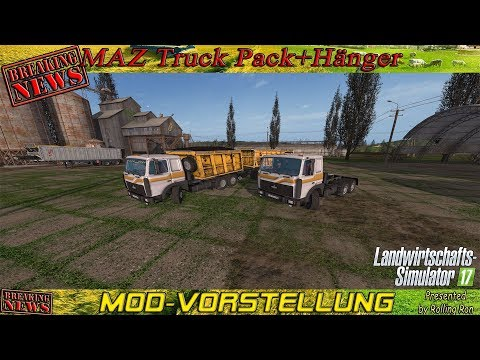 MAZ-5516 and trailer v2.2