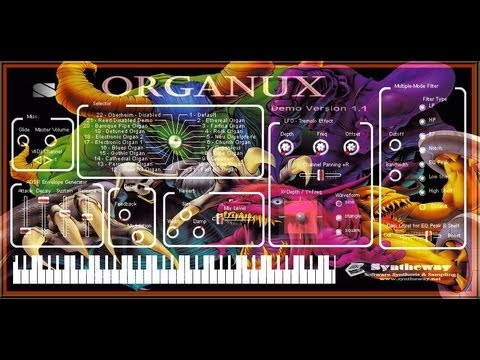 Dancing Mad (FFVI) Syntheway Organux (Church, Cathedral Virtual Organs) Magnus Choir VST Win MacOSX
