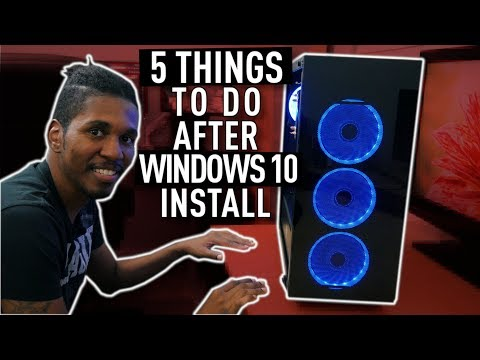5 THINGS YOU SHOULD DO AFTER BUILDING A NEW GAMING PC