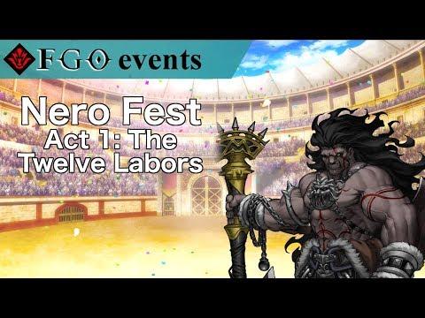 Act 1 - The Twelve Labors | Nero Fest Exhibitions (видео)
