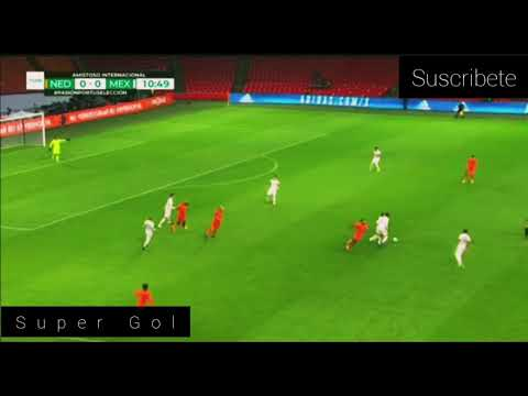 resumen holanda vs mexico 0-1 partido amistoso 2020