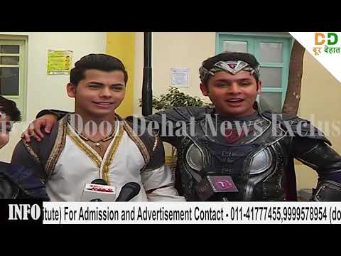 BAALVEER  AND ALDDIN TV SHOW ON LOCATION