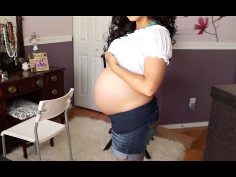 33 Weeks Pregnant- Gestational Diabetes talk + Belly Shot!