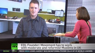 'Muslims first victims of Islamism' - former EDL leader