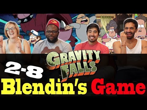 Gravity Falls - 2x8 Blendin's Game - Group Reaction