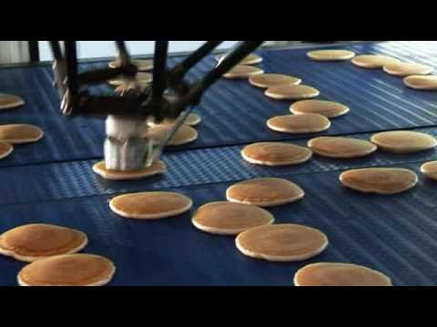 High Speed Pancake stacking robot machine