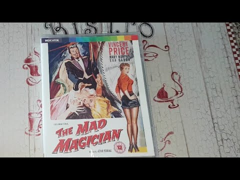 The Mad Magician 3D Blu-Ray Indicator Blu-Ray Unboxing