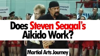 Video Does Steven Seagal's Aikido Work? • Martial Arts Journey MP3, 3GP, MP4, WEBM, AVI, FLV Desember 2018