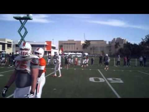 WATCH: Miami QB Wears Helmet Cam For 2-Minute Drill