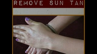 How to Remove Sun Tan from Body 2015 | omnistyles