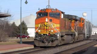 Princeton (IL) United States  city pictures gallery : Amtrak & BNSF Action at Princeton, IL - Feb. 20, 2016