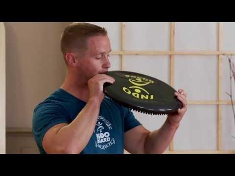Indo Board Balance Cushion Getting Started | IndoFLO Basics for Beginners | Indo Board Training 101