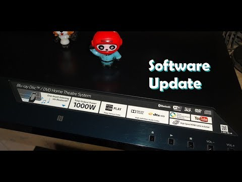 Sony BluRay Player Software Update [2018]