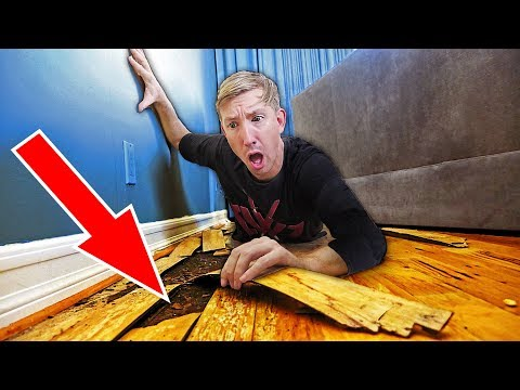 FOUND TRACKING DEVICE UNDERGROUND! (Trick YouTube Hacker into Trap using Spies Abandoned Evidence)
