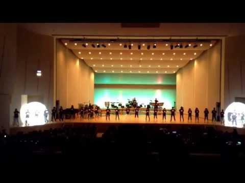上磯中学校 吹奏楽部 ふたりはプリキュア