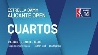 Cuartos de final masculinos - Estrella Damm Alicante Open 2018 - World Padel Tour