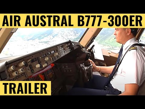 B777 - This 3,5 hour long cockpit DVD takes you on board 3 flights between Paris - Charles De Gaulle and St Denis in Reunion Island. You will hear Captain Patrick B...