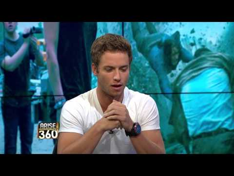 """Actor Jeremy Sumpter on his new film """"Into the Storm!"""""""