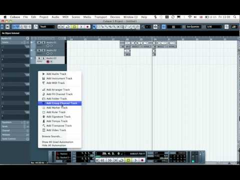 Cubase Tutorial – Tech Tip 21 – Advanced Reverse Reverb
