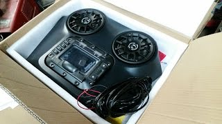 8. SSV Works RZR 800 Overhead Stereo Installation and Review
