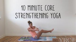 Video 10 Minute Core Strengthening Yoga MP3, 3GP, MP4, WEBM, AVI, FLV Maret 2018
