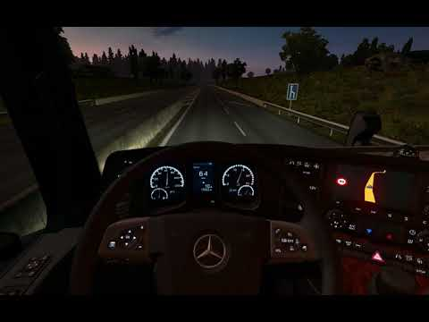 Mercedes MP IV Custom Dashboard