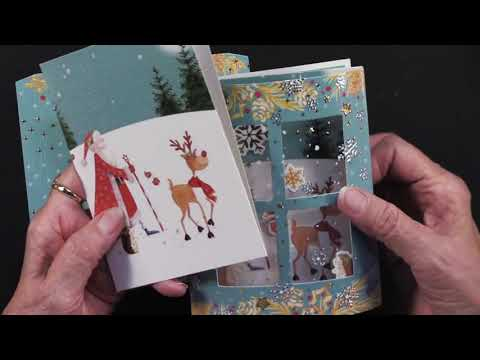 10-6-19 Paper Wishes Webisodes - Christmas Dome Card Kit