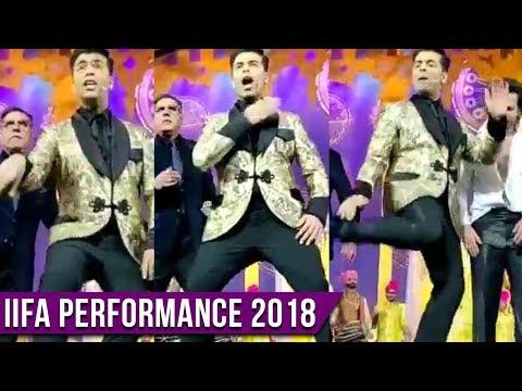 IIFA 2018 : Karan Johar's Best Performance On Shav