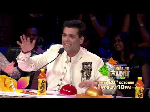India's Got Talent: Starts 20th Oct, Sat-Sun 10 PM