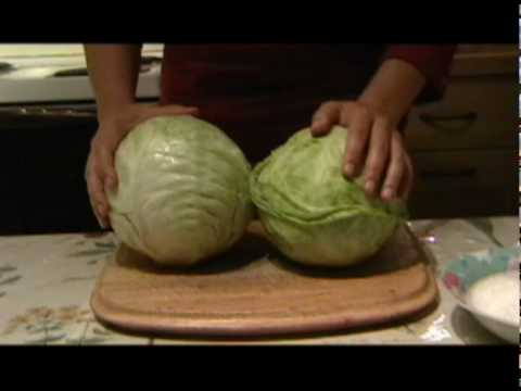 pickeled - www.choose-healthy-food.com provides step by step instructions how to make pickled cabbage, a health food from Eastern Europe. Staple of the Eastern European...