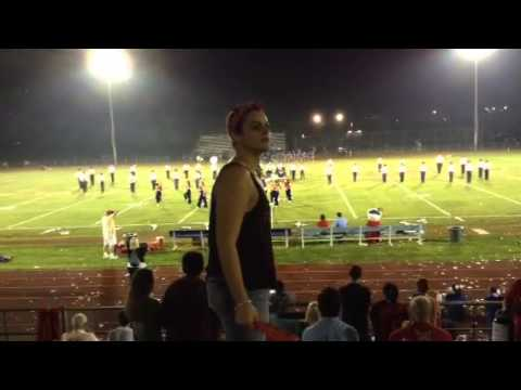 Secaucus High School marching band: Bruno Mars show 2013