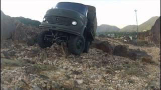 Caminhão Mercedes Benz 1113 Militar Rádio Controle Escala 1:10