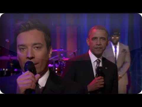 jam - Subscribe NOW to Late Night With Jimmy Fallon: http://full.sc/IcjtXJ When Jimmy talks to the UNC audience about student loans, he decides a slow jam with Pre...