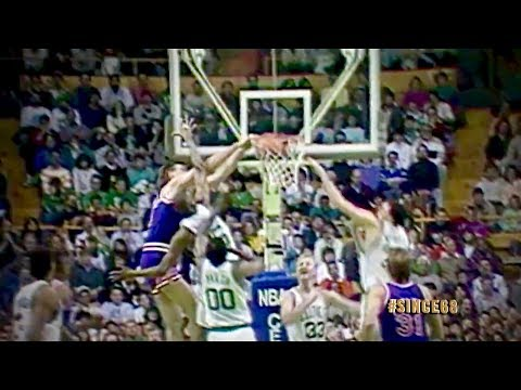 Tom Chambers Dunks on the Celtics