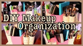 DIY: Makeup Organization Caddy!