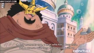 One Piece - Luffy vs fake luffy Haoshoku Haki HD