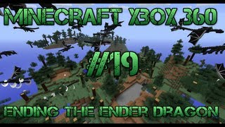 Minecraft Xbox 360 - Ending The Ender Dragon - #19 Throwing an Eye Of Ender