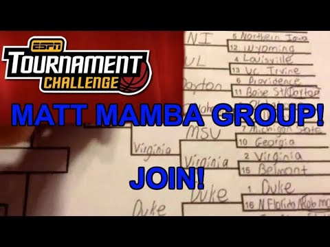Join my ESPN Tournament Challenge Group - Contest