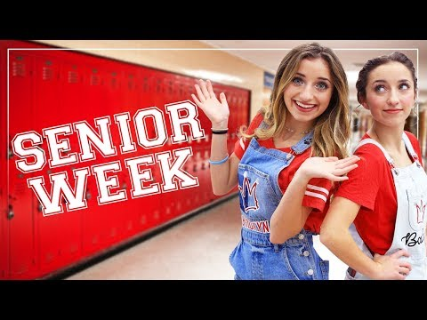 Ultimate High School SENIOR WEEK Fun! | Brooklyn and Bailey