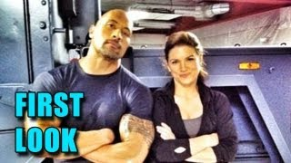 The Fast and the Furious 6 First Look (2013) - Dwayne Johnson and Gina Carano