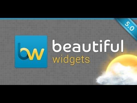 Beautiful Widgets Pro việt hóa phần mềm tiện ích giao diện cực đẹp trên Android
