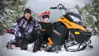 7. TEST RIDE: 2013 Ski-Doo 800R Summit SP 154