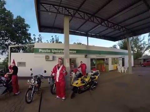 LENON RS - MG ESTRADEIROS DA FRONTEIRA OESTE FAZENDO A ABERTURA DO NATAL EM UNISTALDA RS